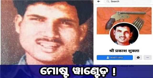 Sriprakash Shukla still alive on social media after the shootout, Nitidina, ମରିବା ପରେ ମଧ୍ୟ ଆଜିବି ସୋସିଆଲ ମିଡିଆରେ ଜୀବିତ ଅଛନ୍ତି ଶ୍ରୀ ପ୍ରକାଶ ଶୁକ୍ଳା, Odisha, India, Social Media