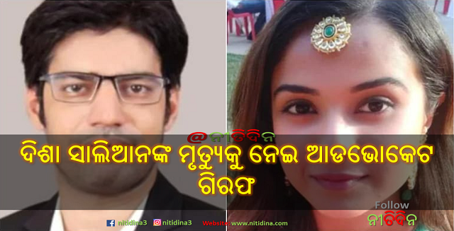 Advocate Vibhor Anand arrested for 'peddling lies' about Disha Salian's death, Sushant Singh Rajput, Advocate Vibhor Anand, Disha Salian, Justiceforssr, Bollywood, Justice for Sushant, Nitidina