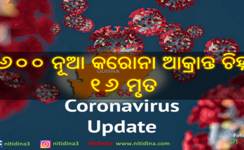 Corona Update Odisha new 3600 tested corona positive and 16 deaths, ରାଜ୍ୟରେ ଆଜି ୩୬୦୦ ନୂଆ କରୋନା ପଜିଟିଭ ଚିହ୍ନଟ ଓ ୧୬ ମୁଣ୍ଡ ନେଲା କରୋନା । ଜାଣନ୍ତୁ କେଉଁ ଜିଲ୍ଲାରୁ କେତେ, Coronavirus, Covid-19, Corona Odisha, Nitidina, News