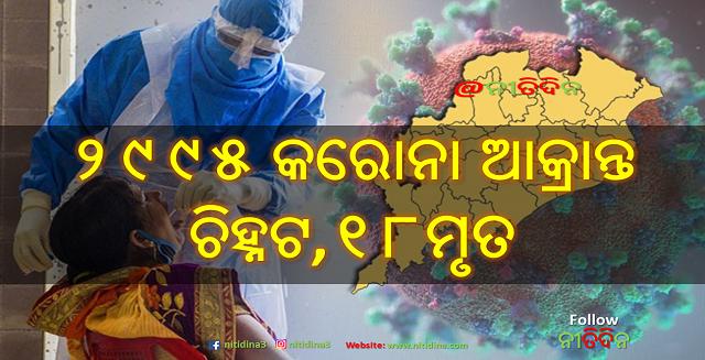 Corona Update Odisha new 2,995 tested corona positive and 18 deaths, Nitidina, Corona Update, Odisha