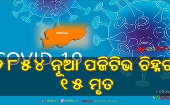 Corona Update Odisha Corona Deaths crossed 1000 & new 2854 tested corona positive, Corona, Coronavirus, Covid-19, Corona Update, Nitidina, Odisha