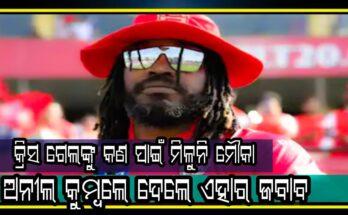 kings XI Punjab Chris Gayle play Anil Kumble coach, Cricket, IPL 2020, Nitidina