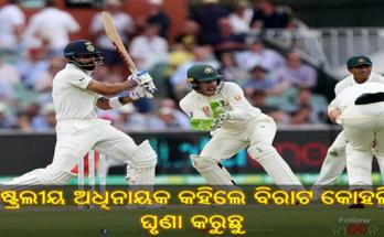 Australia captain Tim Paine breaks silence on Virat Kohli says we hate him, Virat Kohli, Cricket, AUS vs IND, Nitidina