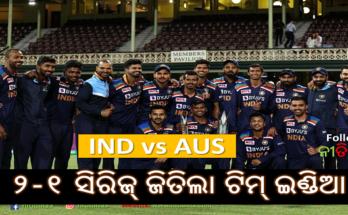 India vs Australia 3rd T20 Australia defeated India in last T20 match Team India won 2-1 series