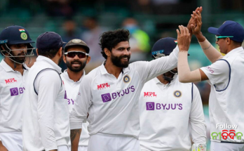 Ind vs Eng Bad news for Team India Ravindra Jadeja out of Test series against England